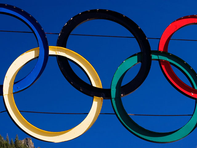Screenshot of Free 2010 Winter Olympics Screensaver